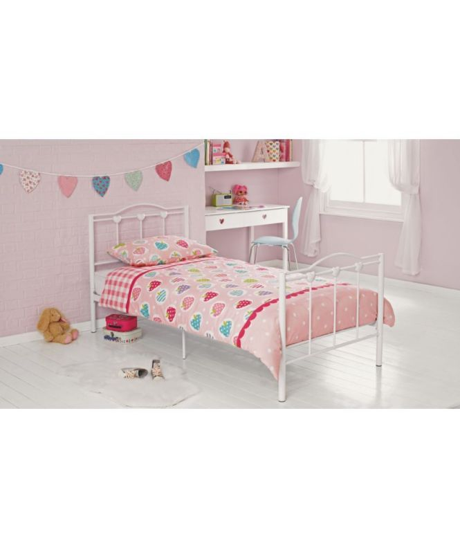 Princess Single Bed Frame White At Argos Co Uk Your Online