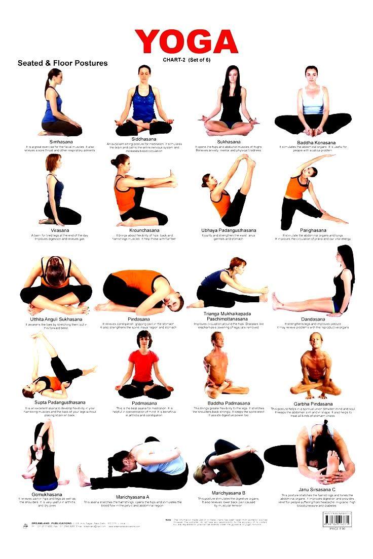 Basic Beginner Yoga Poses Yoga Steps Pinterest