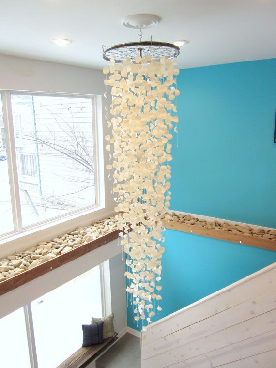 Paper Chandelier Mobile Sculpture Large Scale By Paperacorn 1500 00