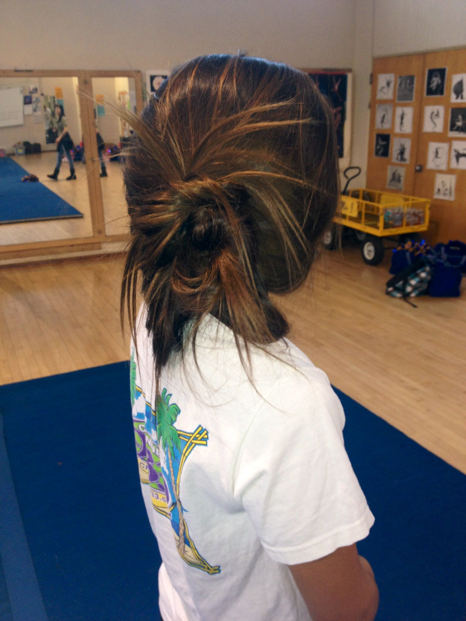 Competition Cheer Hairstyles Fade Haircut