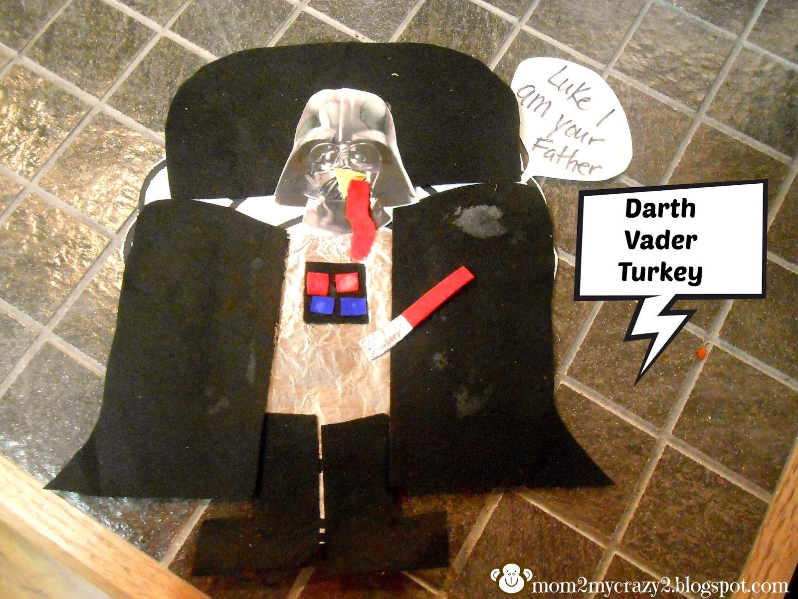 The Great Turkey Disguise Darth Vader Running Away I