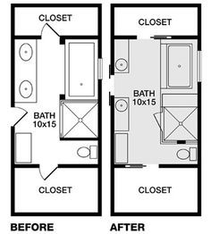 two zen bathroom tours | bathroom floor plans, zen bathroom and