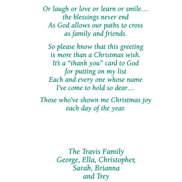 Religious Christmas Card Sayings Christmas Moment KPbL91bQ