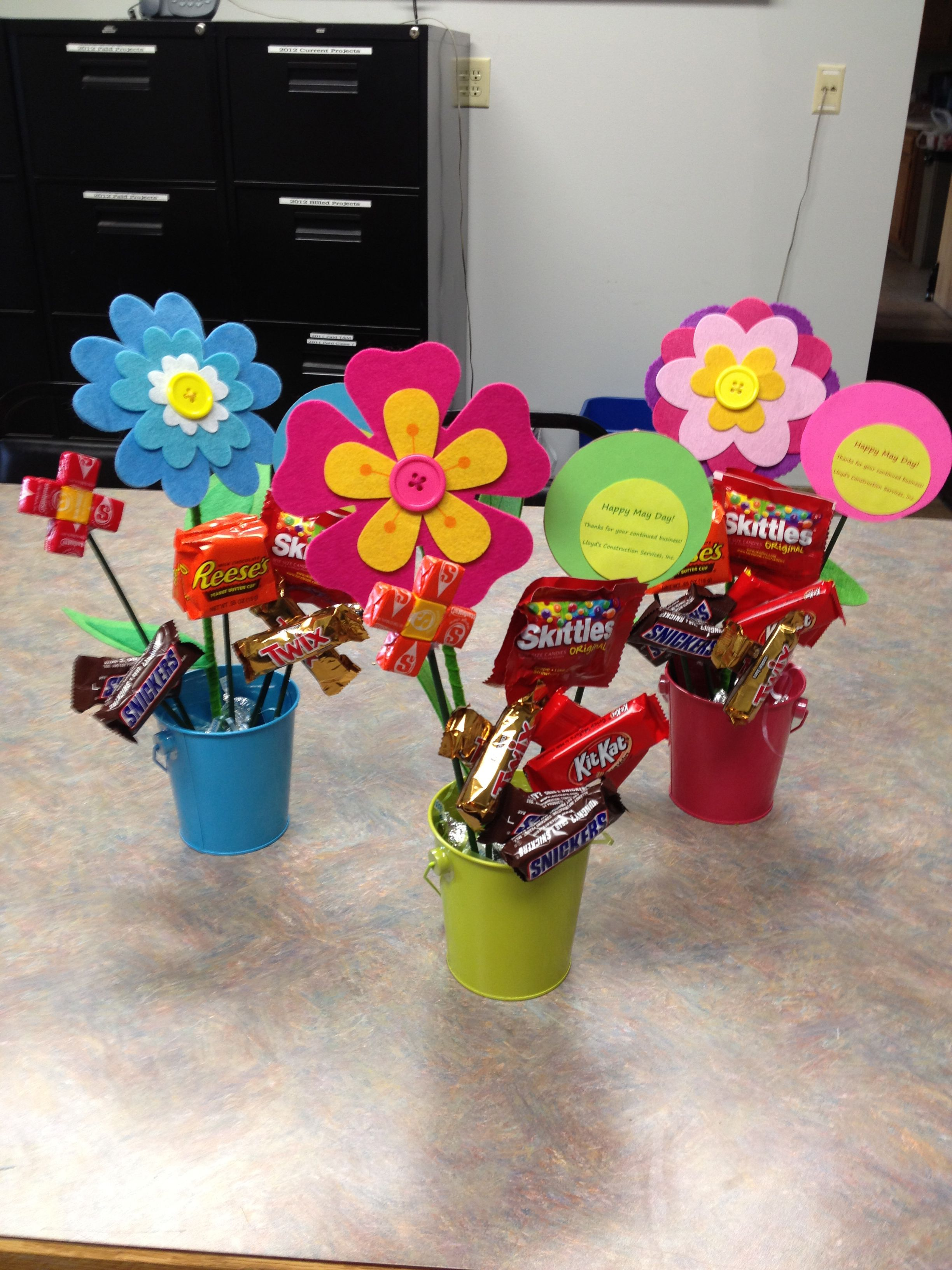 Customer Appreciation May Day Baskets