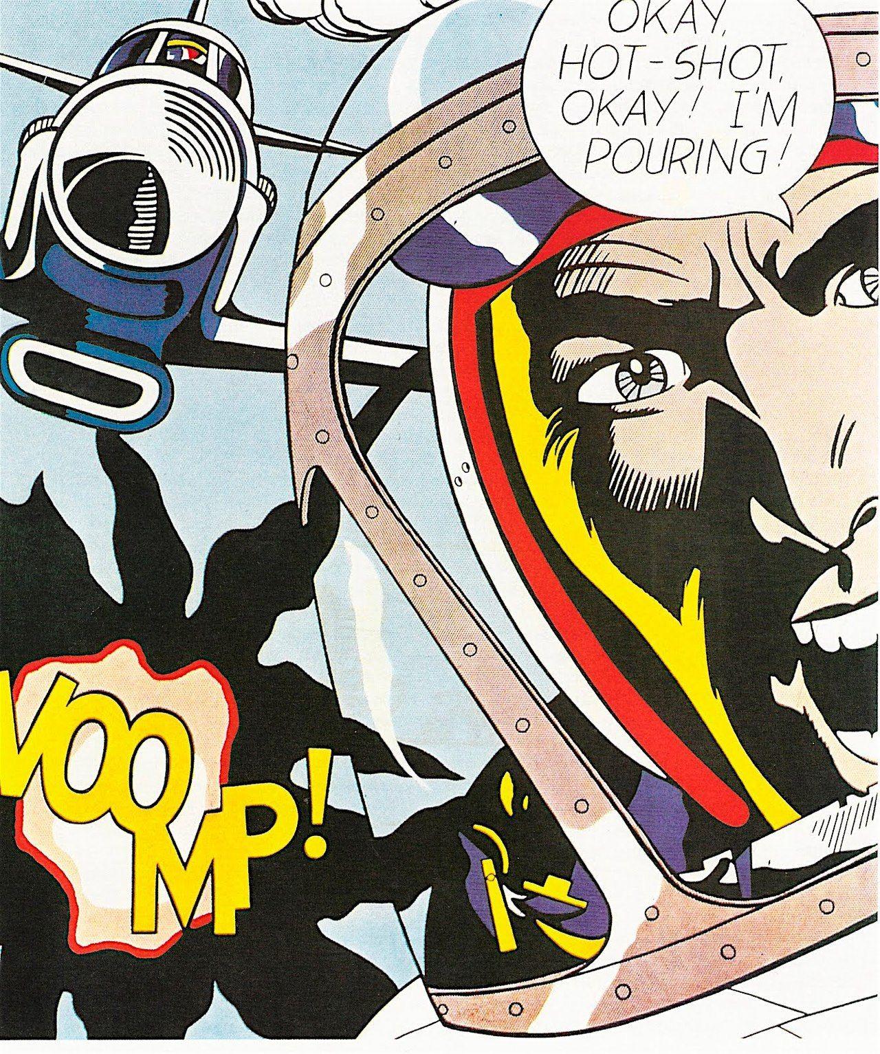 Okay HotShot, Okay! Roy Lichtenstein, 1963 Roy