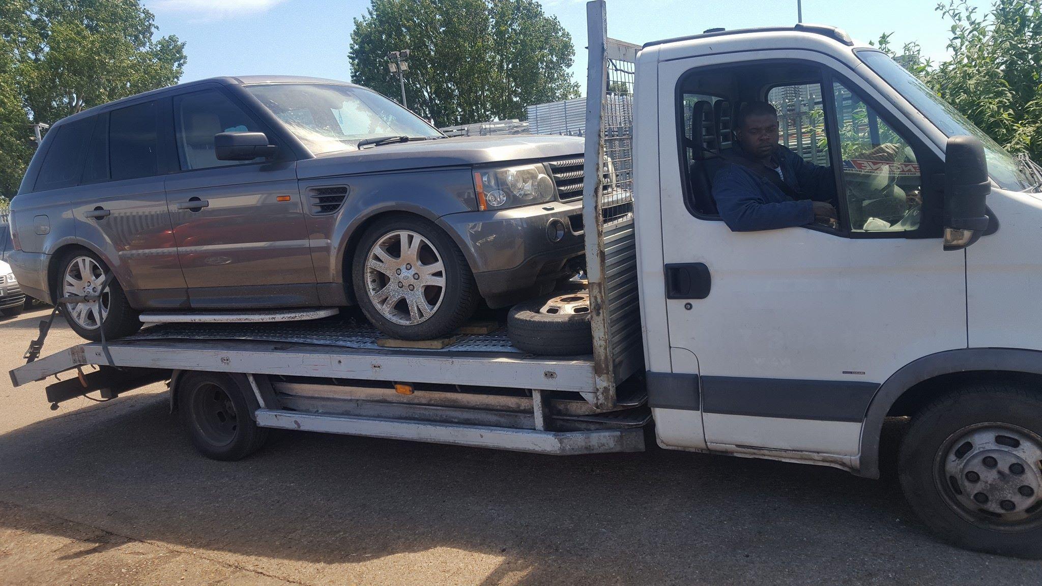 Range Rover Sport in for Repair 2 7
