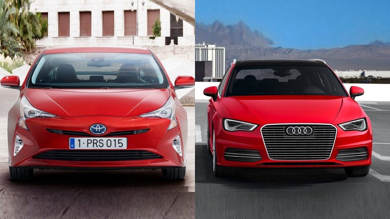 2016 Toyota Prius vs 2016 Audi A3 Sportback eTron http