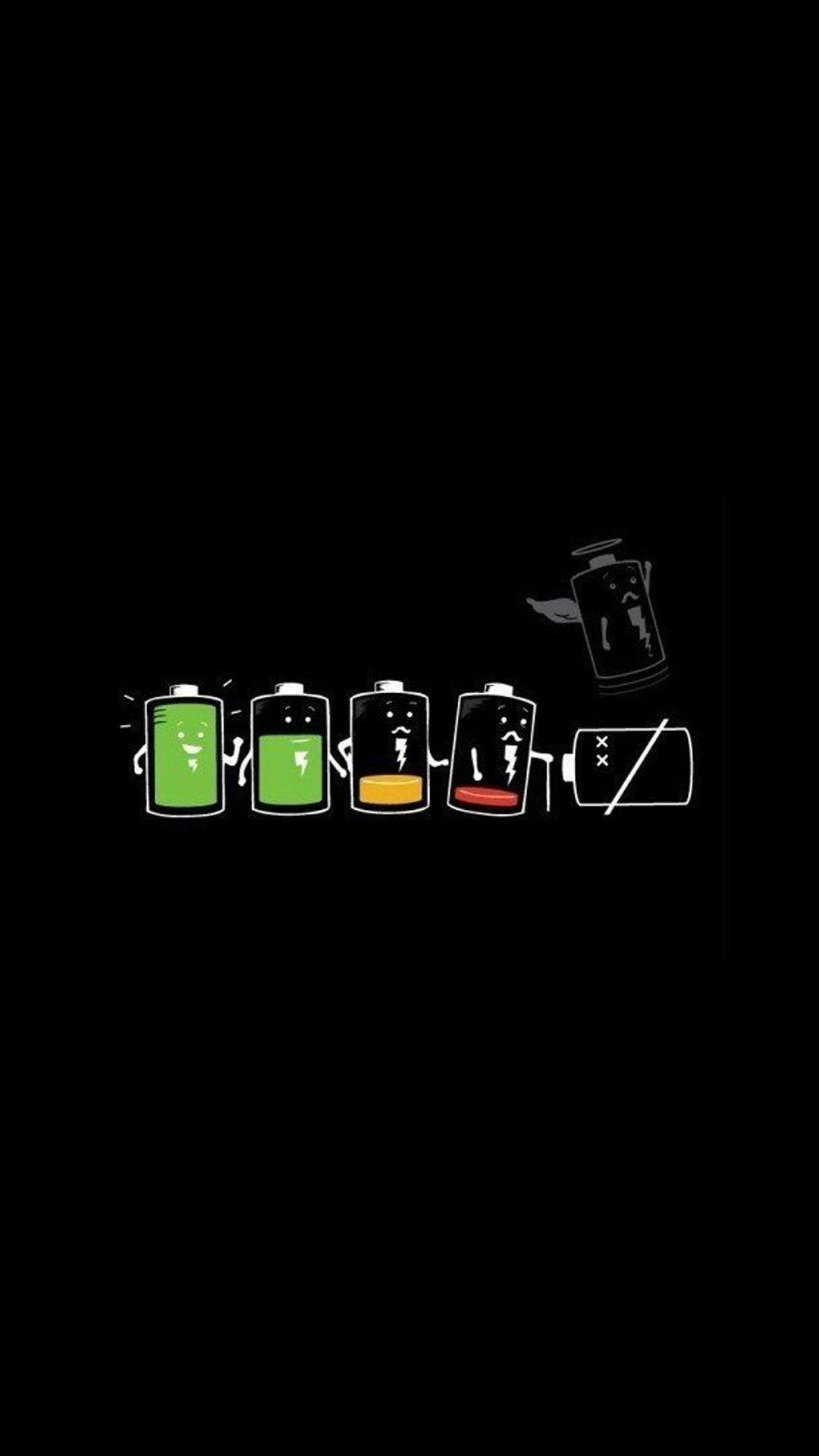 the battery life. funny cartoon art iphone wallpapers. tap to see