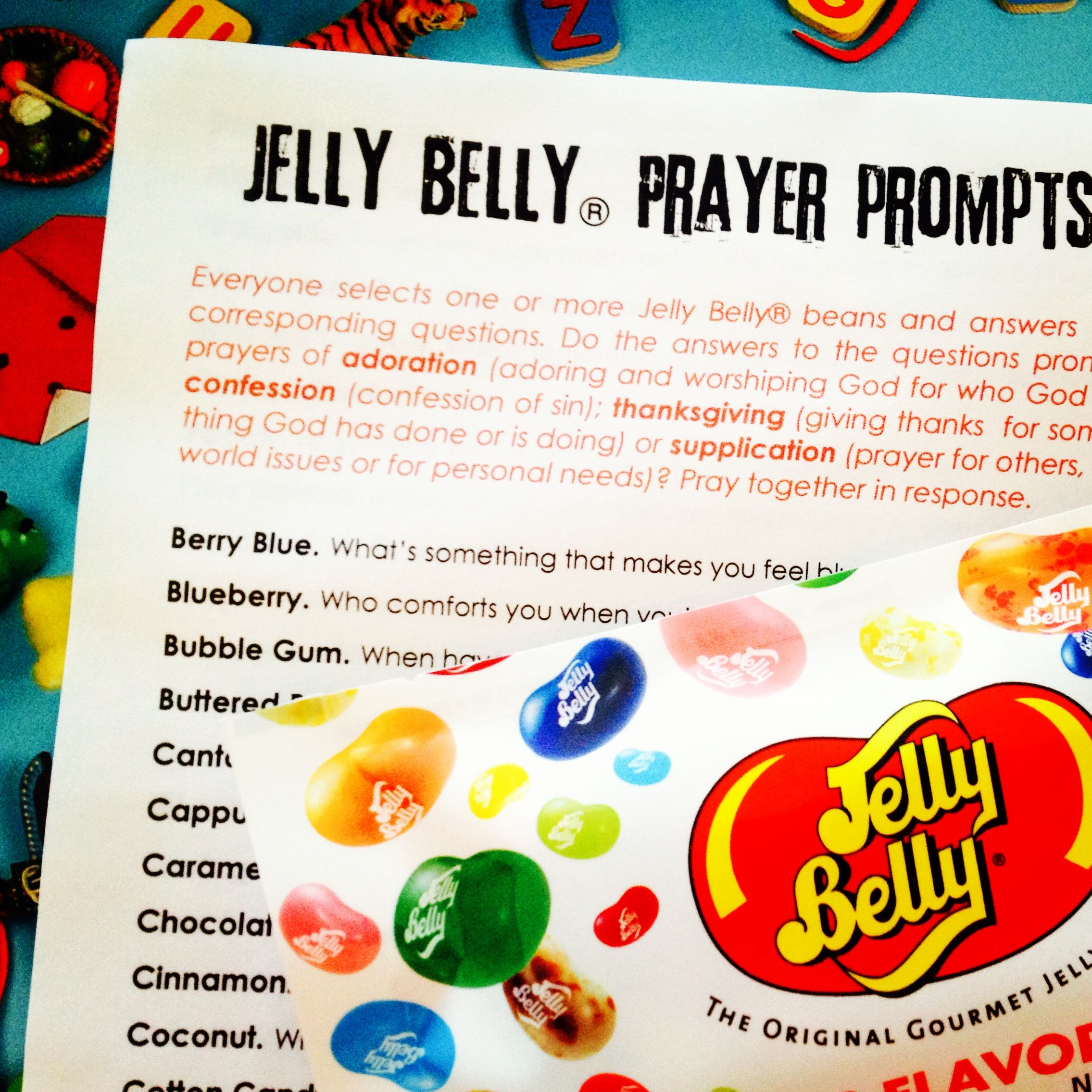 50 Days Of Easter 50 Jelly Belly Prayer Prompts Great