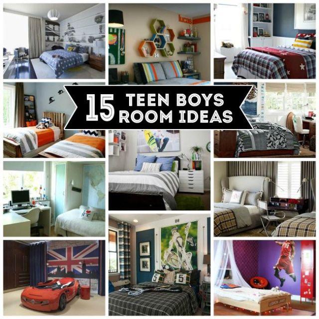 Teen Boys Room Ideas | Teen boy rooms, Teen boys and Room ...