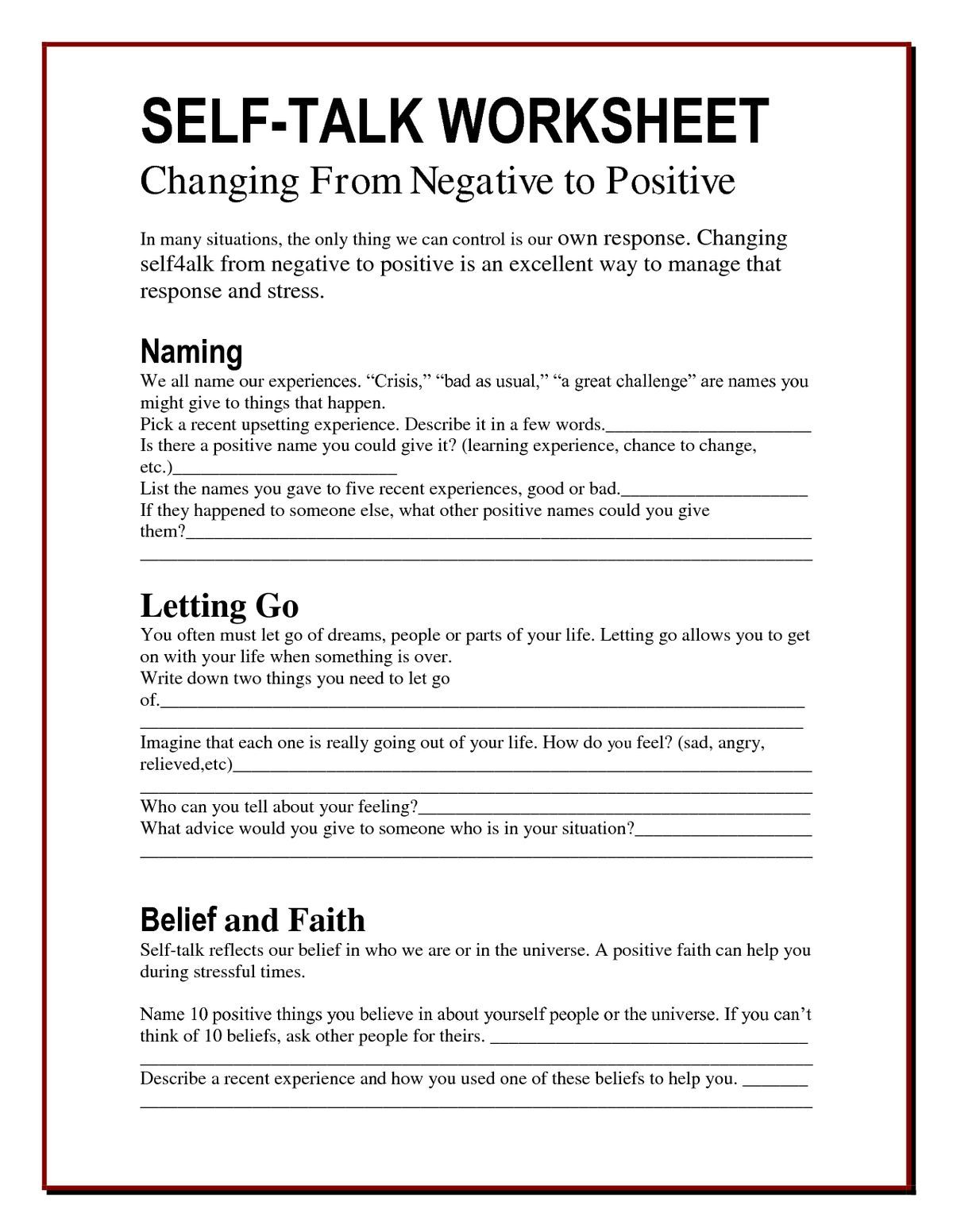 Stopp Cbt Worksheet