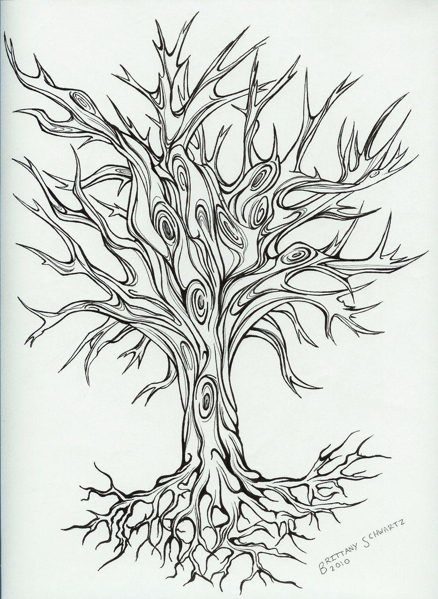 Free Printable Designs Tree Tattoo Design By
