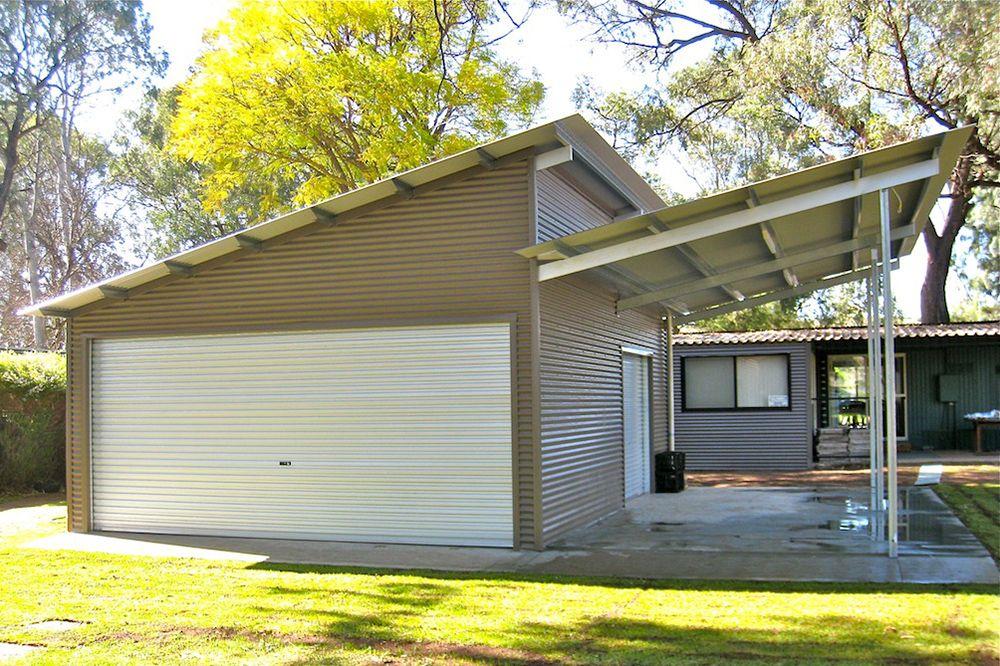 Allshed Solutions Adelaide Hills Sheds Skillion Roof