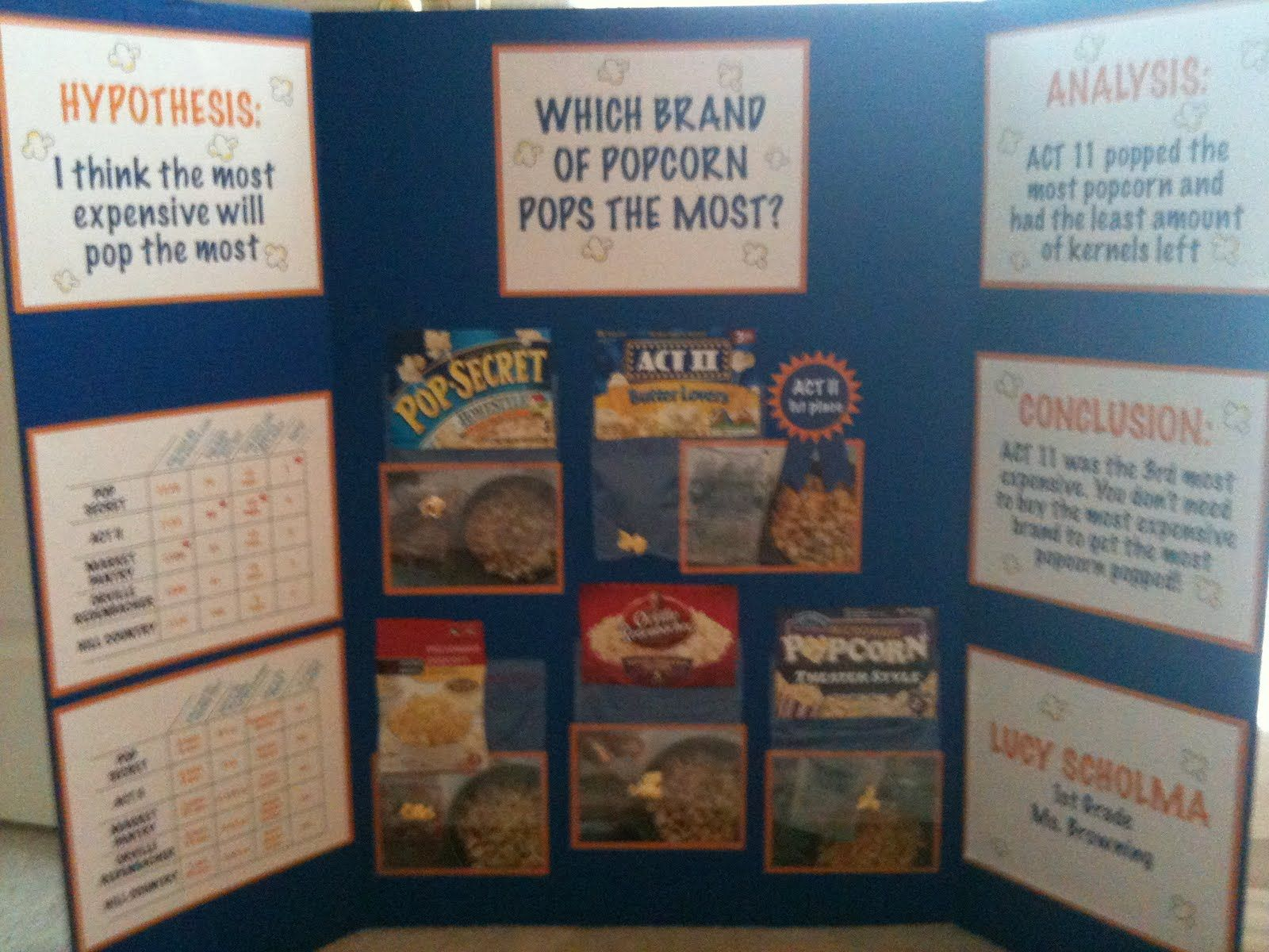 Microwave Popcorn Science Fair Project Bestmicrowave