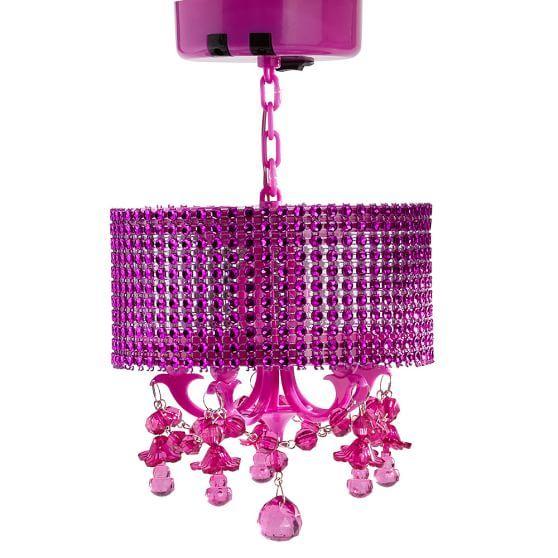 Pink Locker Chandelier Pb