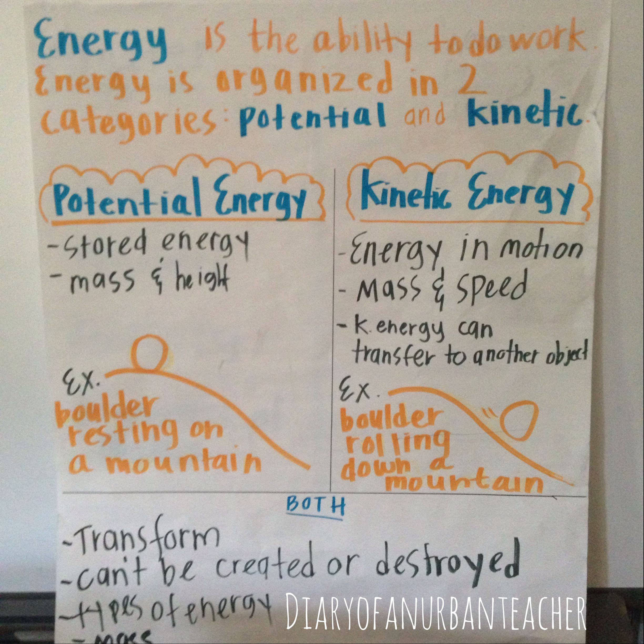 Potential Vs Kiic Energy Worksheet Key