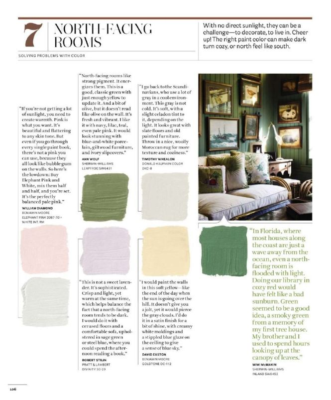 The Best Benjamin Moore Paint Colours For A North Facing Northern Exposure Room Off White Walls Offices And