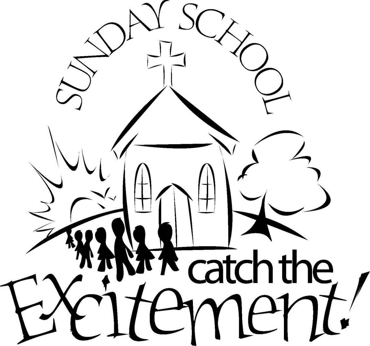 Free Sunday School Coloring Pages For Kids