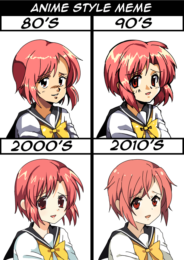 Anime Style Meme by BoarsBoarsBoars anime/chibi class