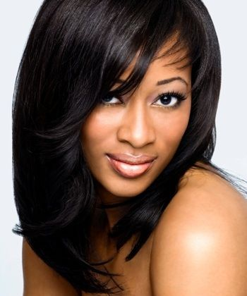 weave hairstyles with bangs google search hairstyles pinterest weave hairstyles bangs