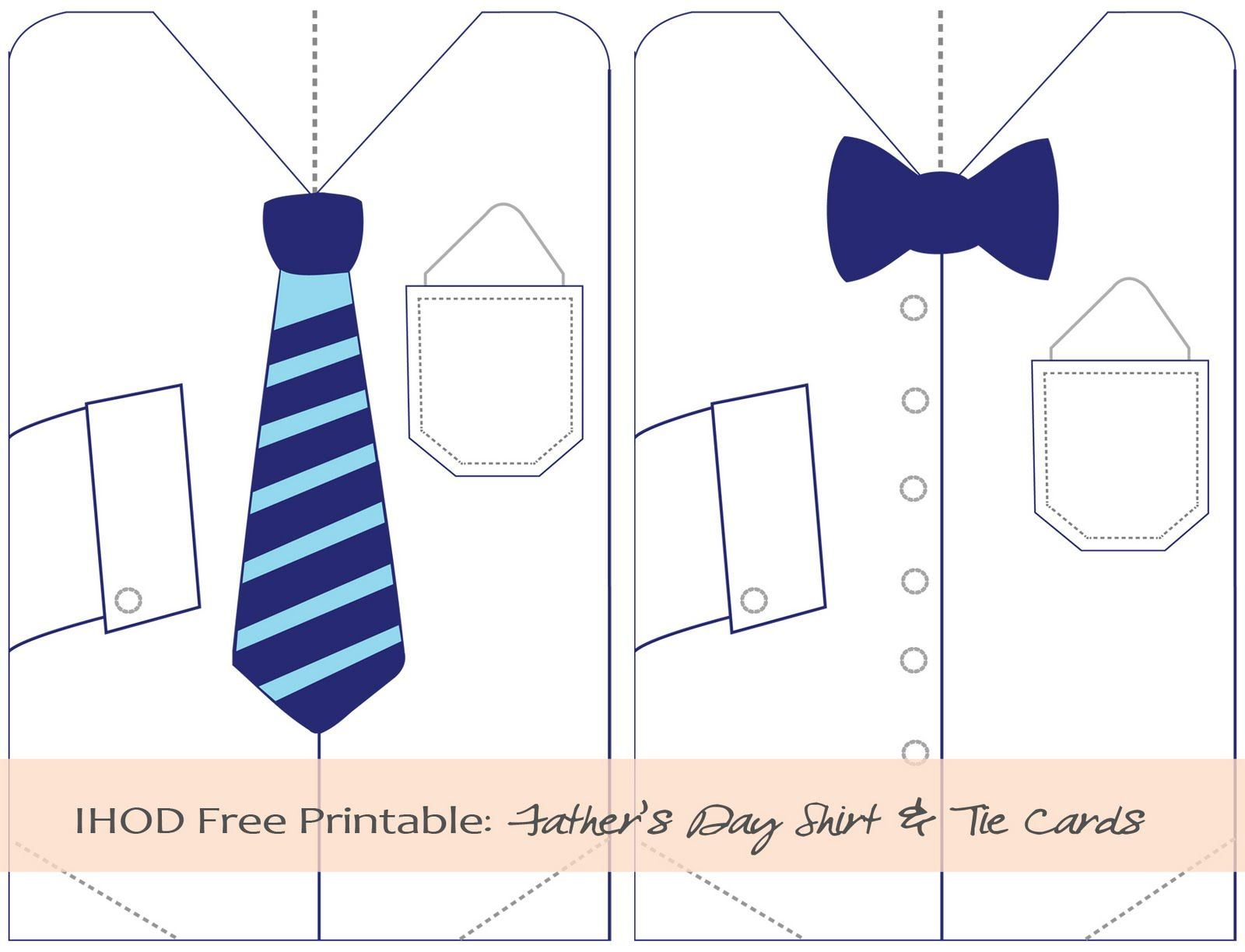 Father S Day Tie Printables