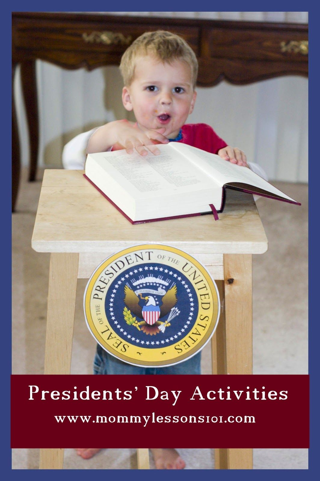 Mommy Lessons 101 Presidents Day Activities And Books For Kids