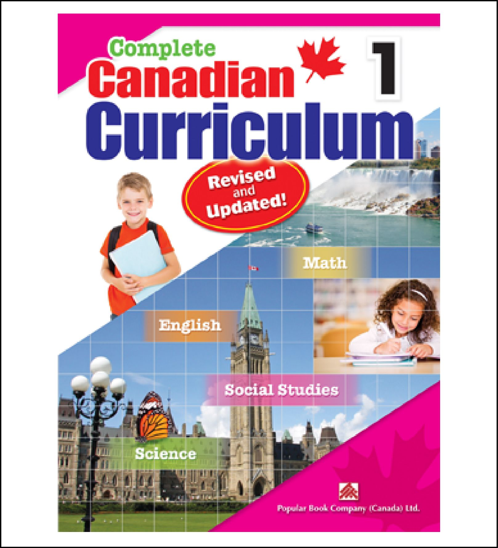 Workbook for Kids Complete Canadian Curriculum Grade 1 by