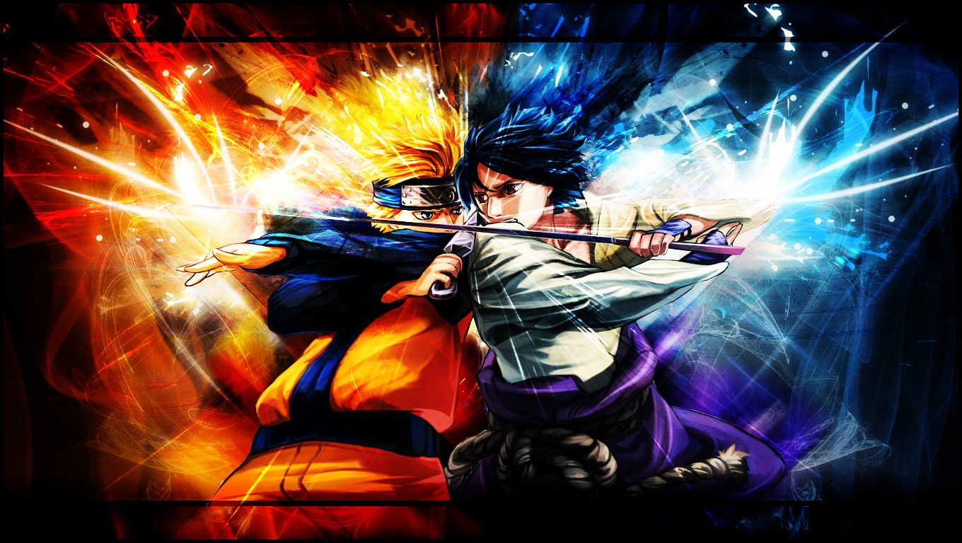 naruto and sasuke - wallpaperxky03 on deviantart | best anime