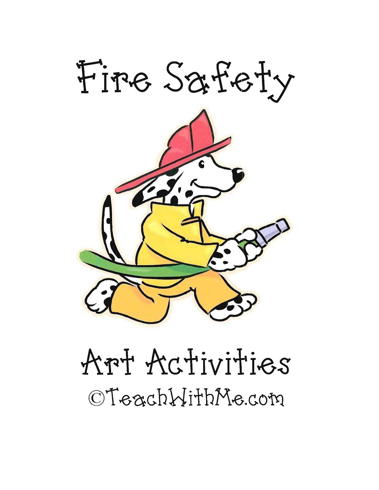 Fire Safety Art and Activities Activities, The o'jays