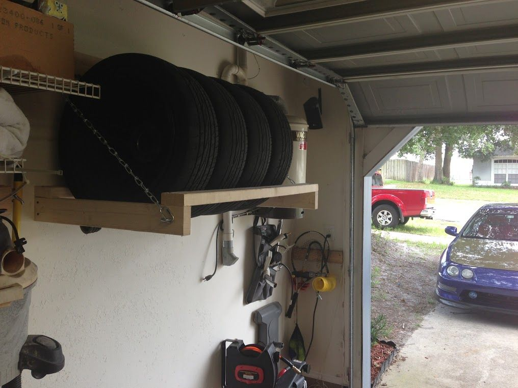 DIY garage wheel/tire storage rack Team Integra Forums