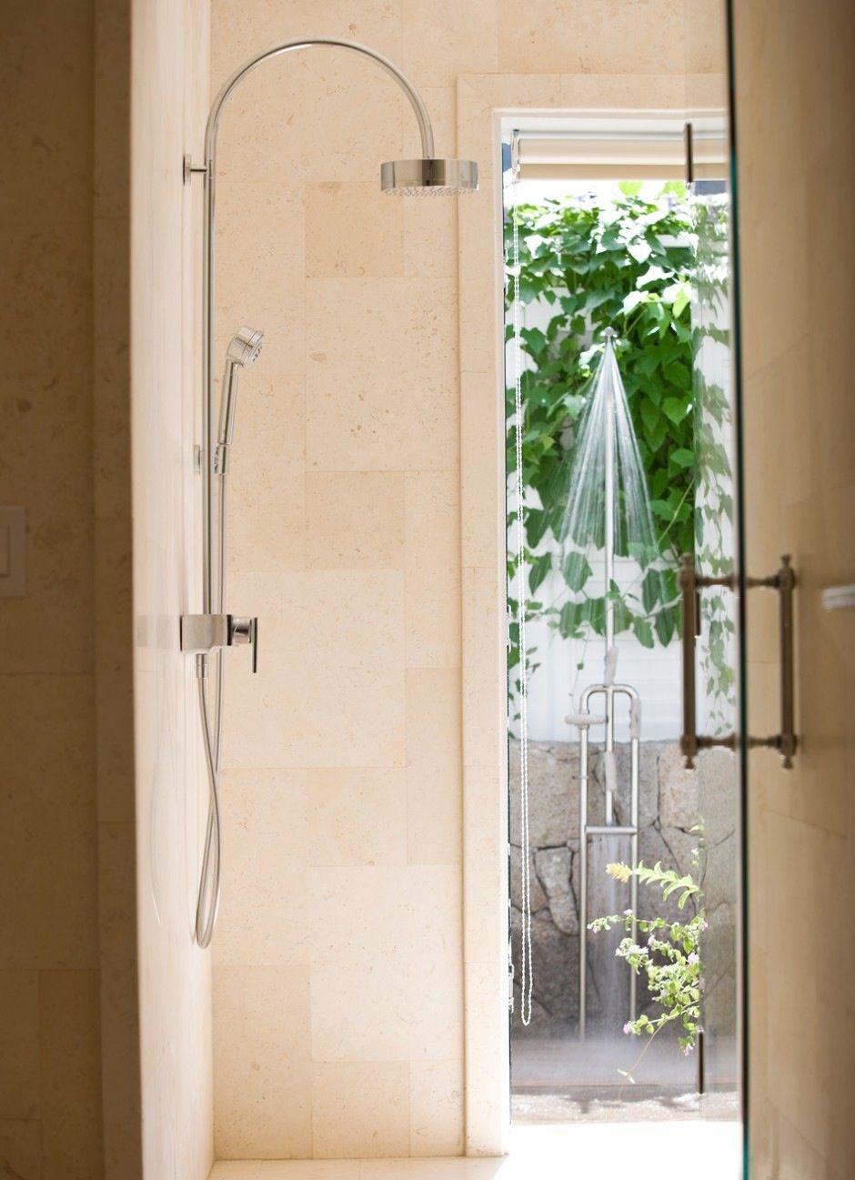 Shower With Exterior Door Compact 34 Bath Pinterest