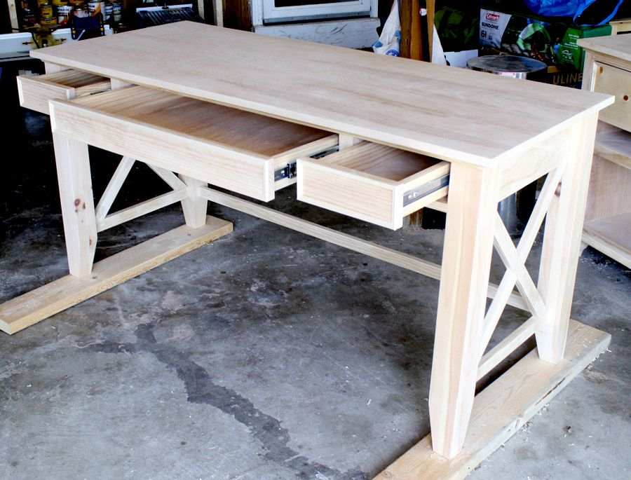 DIY Writing Desk Desks, Tutorials and Woods