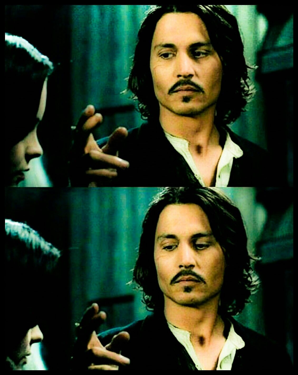Johnny Depp and Christina Ricci I Give You Johnny Depp