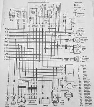 VN800 Wiring Diagram  Kawasaki Vulcan Forum : Vulcan Forums | bobber | Pinterest | Kawasaki vulcan