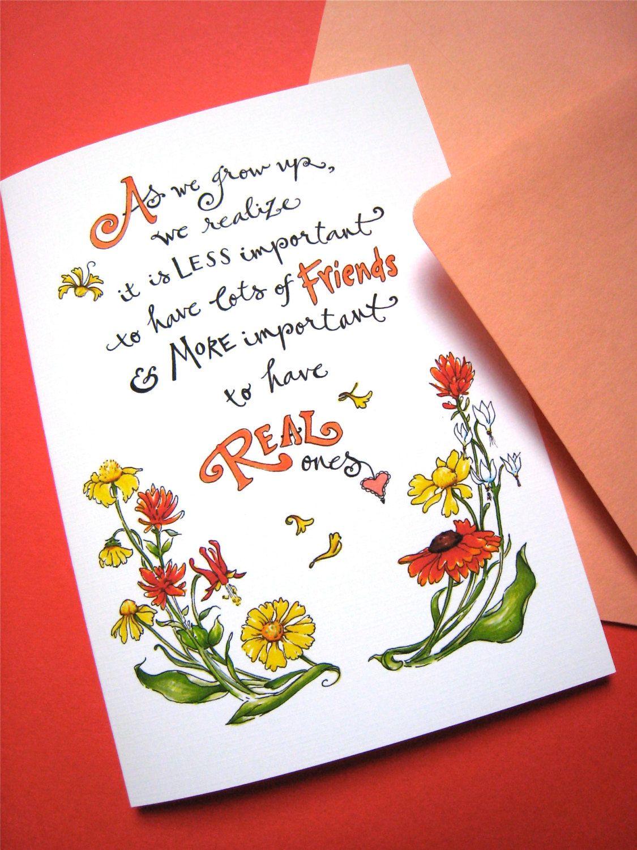 Friendship Quotes Cards Places to Visit Pinterest