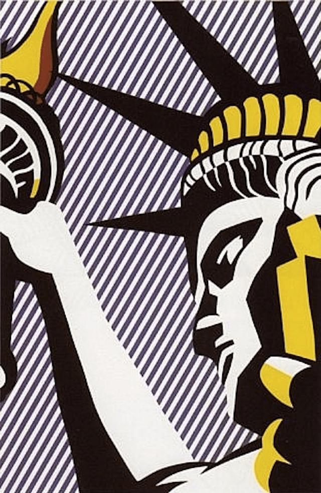 I Love Liberty by Roy Lichtenstein IndependenceDay