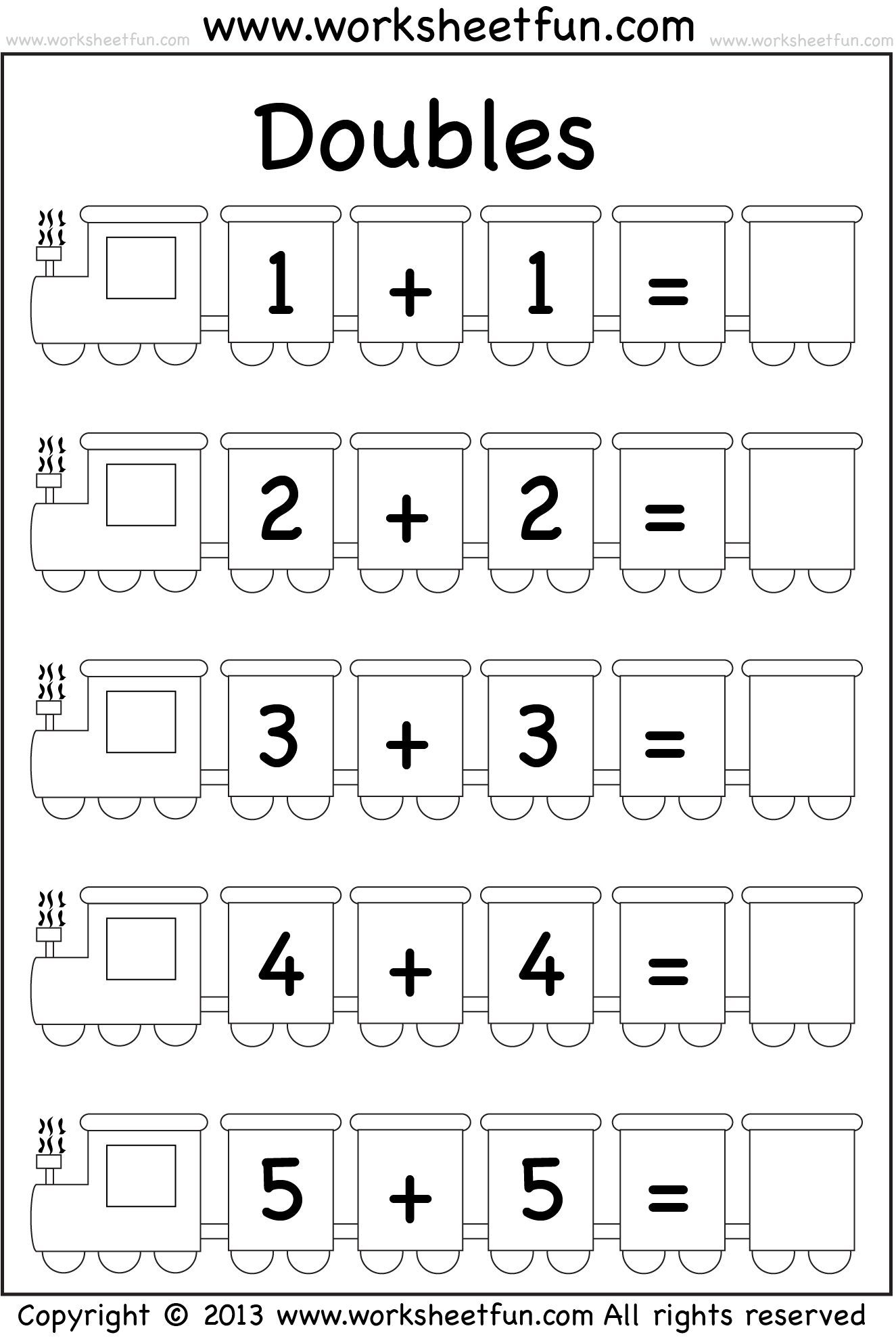 Easy Additional Easter Math Worksheet