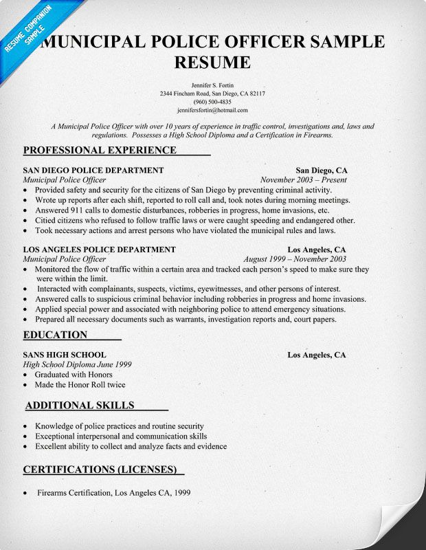 Correctional Officer Resume No Experience. Security Guard Resume
