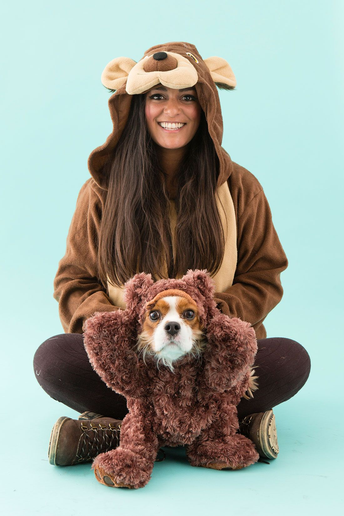 4 Funny DIY Dog and Dog Owner Costumes Teddy bear