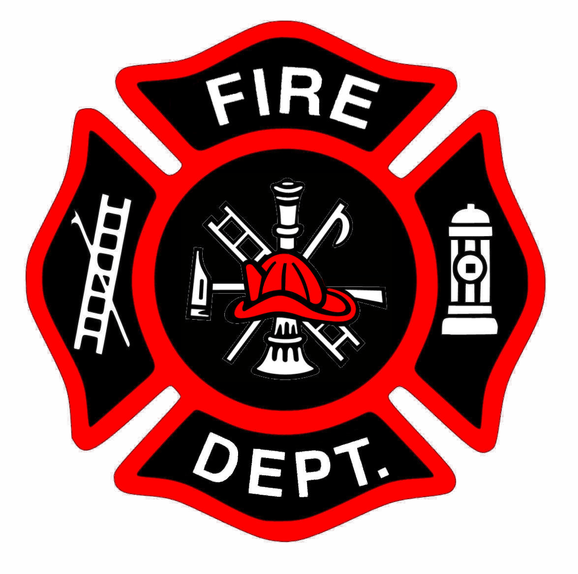 Fireman Bage New Red Hat Cut Free Images At Clker Com