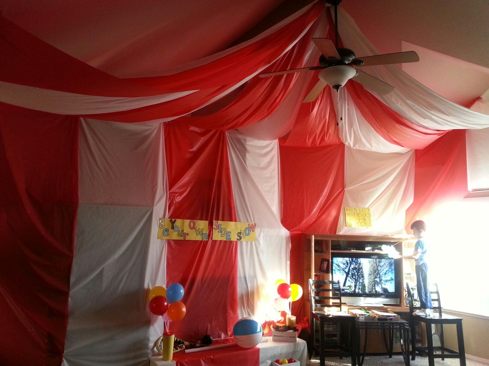 Diy Carnival Party Big Top Tent Southern Revivals & Diy Circus Tent - Best Tent 2018