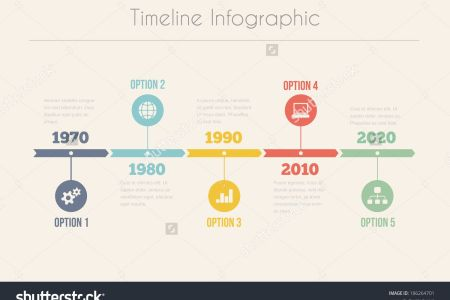 Retro Timeline Infographic  Vector Design Template   186264701     Retro Timeline Infographic  Vector Design Template   186264701    Shutterstock
