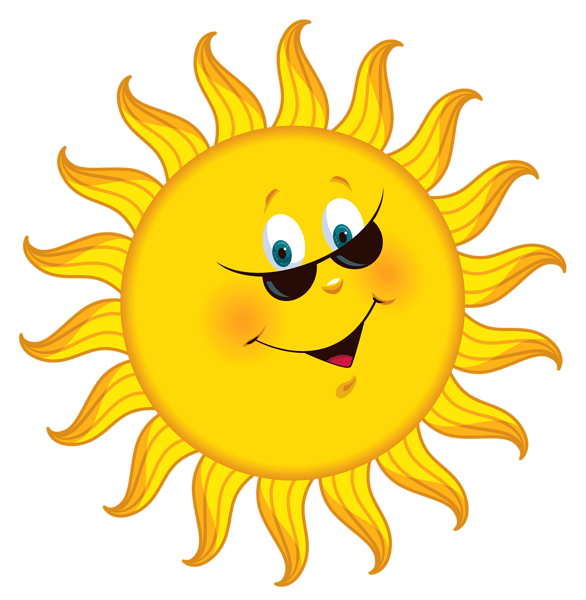 Transparent Cartoon Sun PNG Clipart Picture CARITAS