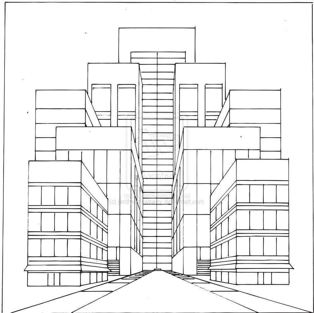 1 Point Perspective Worksheet