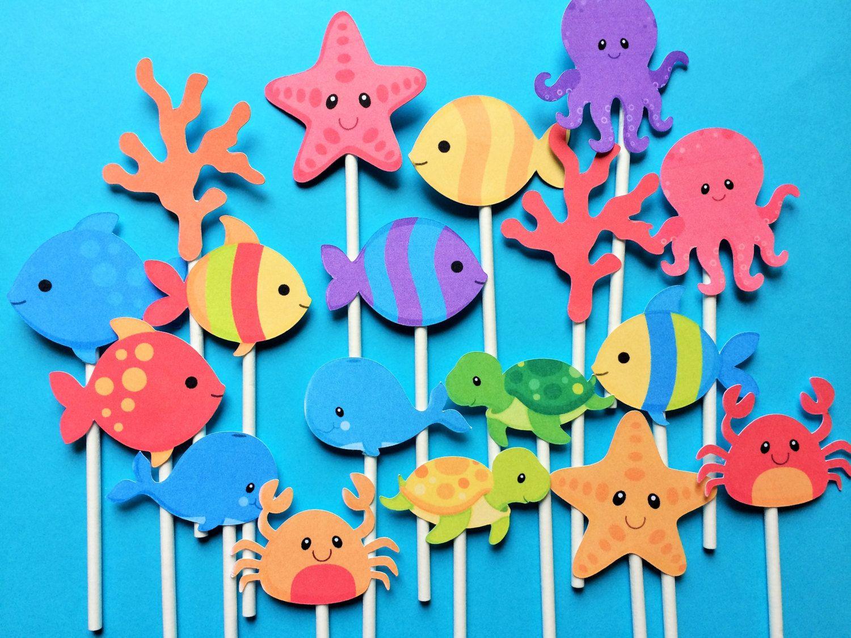 Sea Animals For Girls Printables