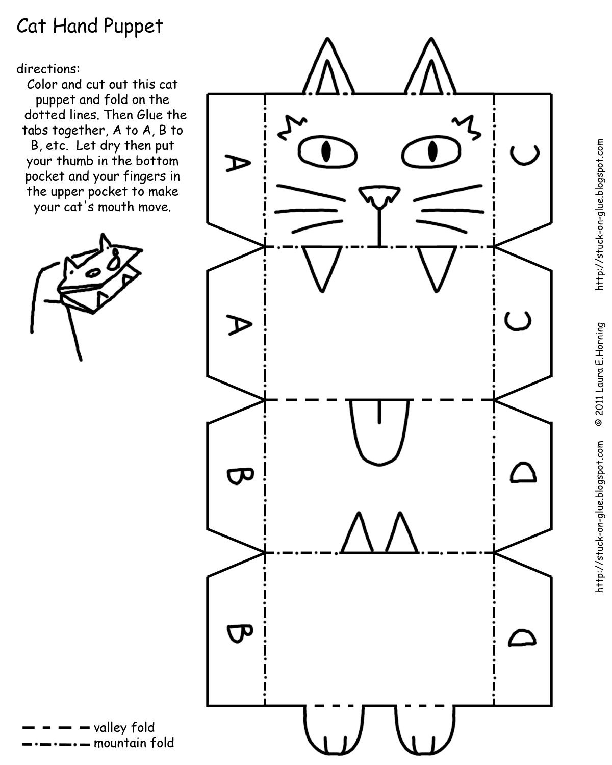 Paper Bag Puppets Printables