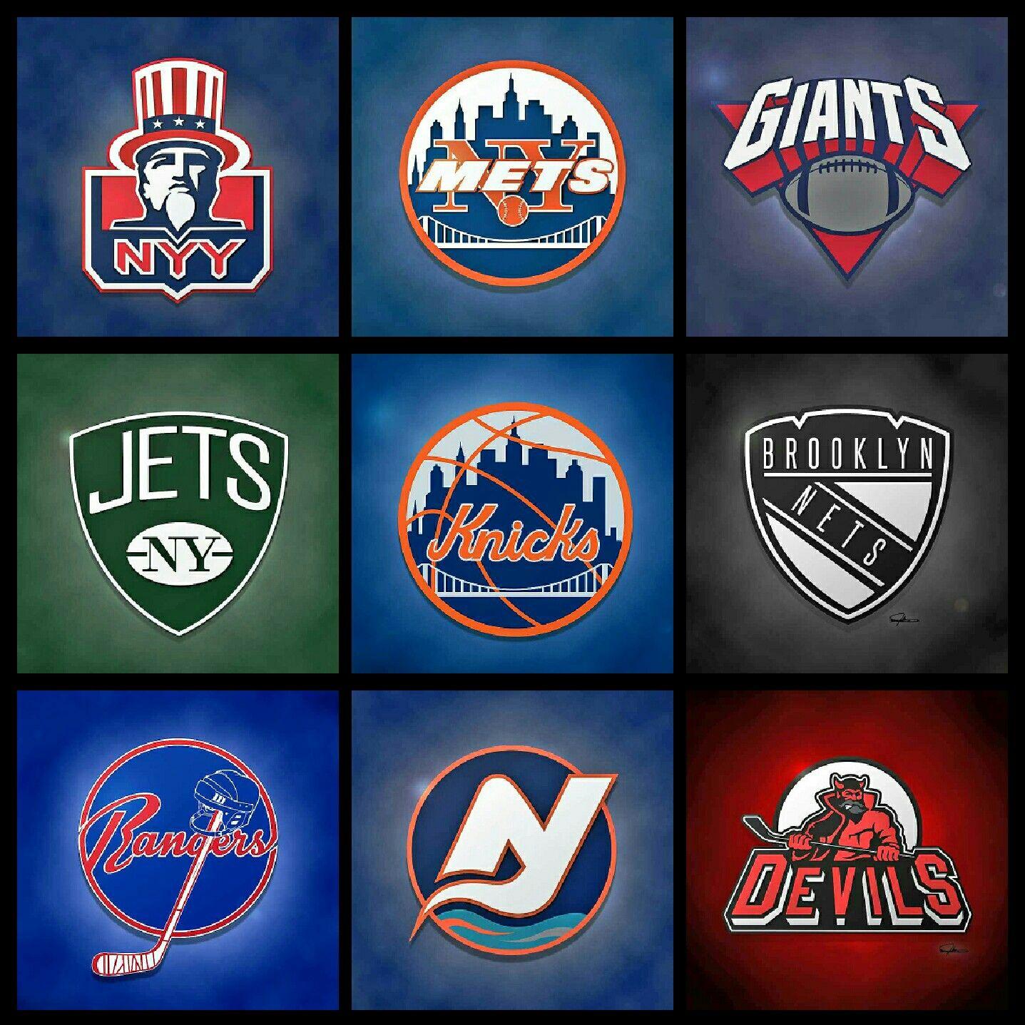 New York Rangers, New York Mets, New York Giants, New York