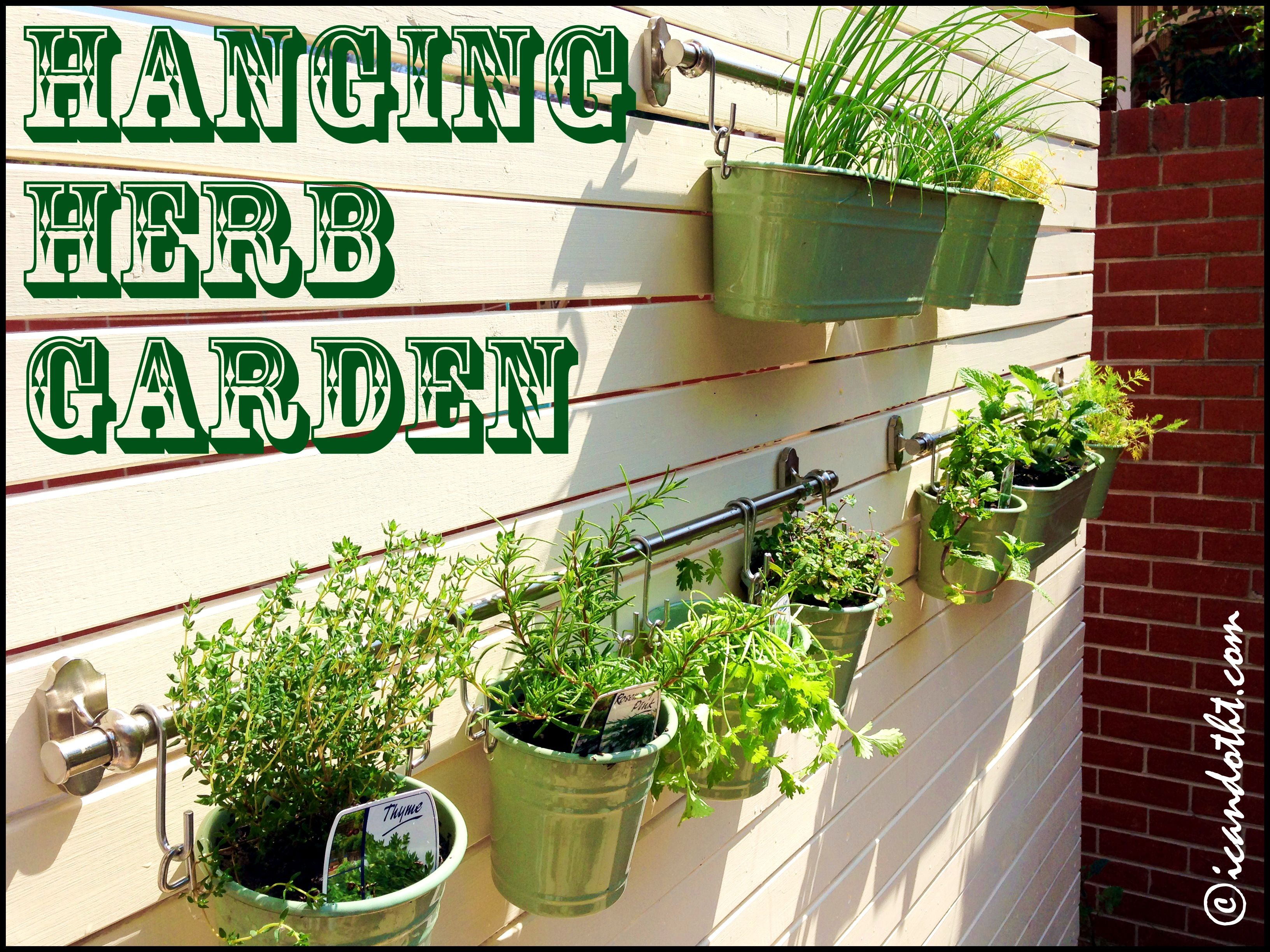 picturesquehangingherbgardenburlapherbgardenfrontdiy