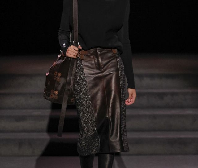 This Skirt Is Literally Everything Tom Ford Fall  Ready To Wear Fashion Show
