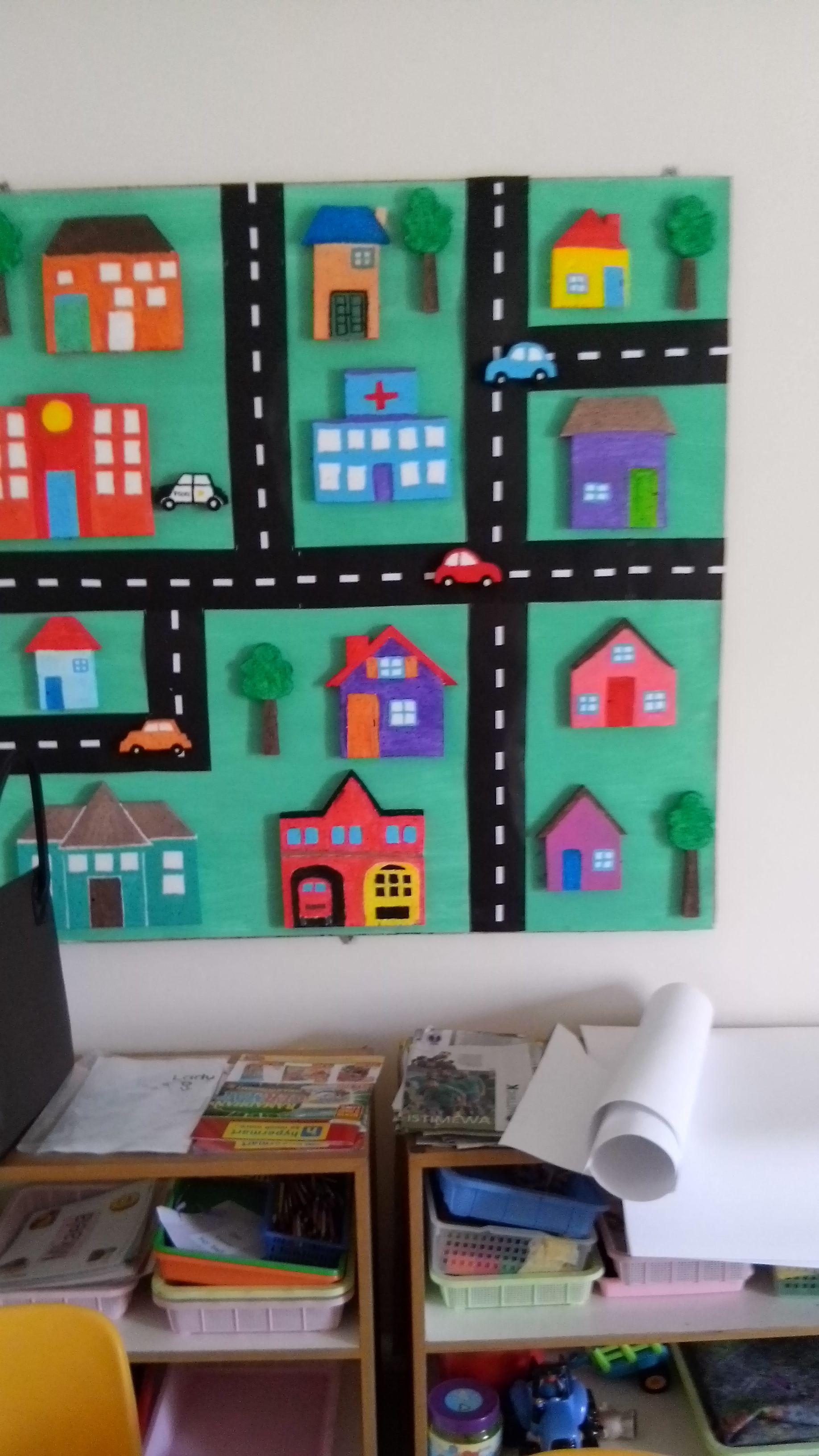 Classroom Decoration Theme Transportation We Had Made